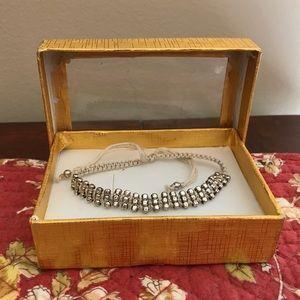 Light tan rope bracelet